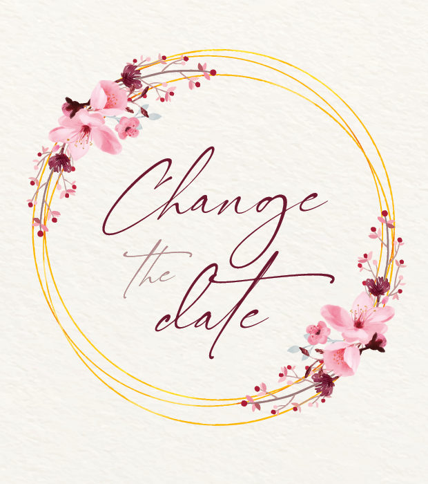 Change the Date Karte – individualisierbar